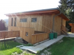 Riegelholzbau mit Holzfassade
