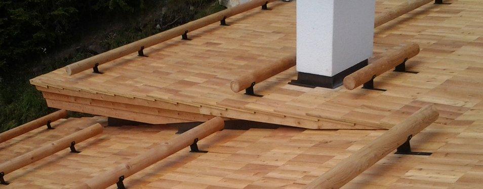 Dachstühle und Dacheindeckungen